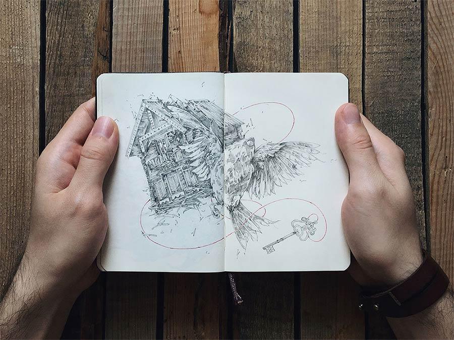 Zeichnungen: Ivan Belikov