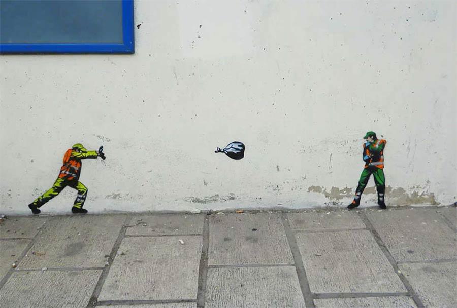 Street Art: JAUNE