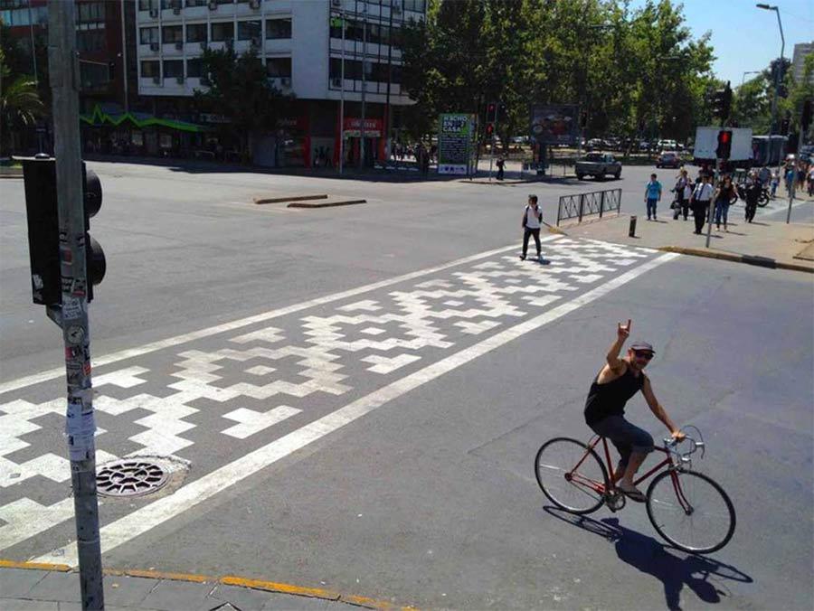 Street Art: Roadsworth Roadsworth_06