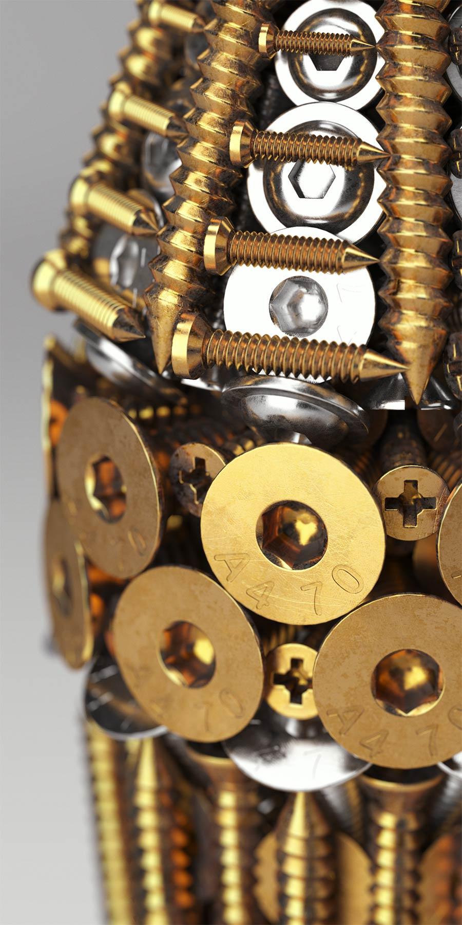 Hammer aus Nägeln Tools_Barrera-Montenegro_04