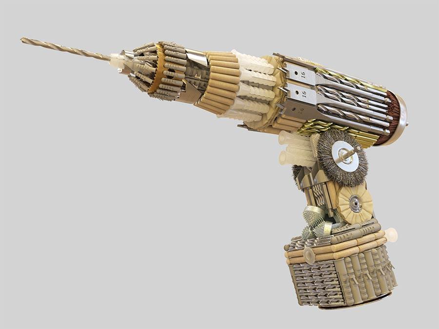 Hammer aus Nägeln Tools_Barrera-Montenegro_06