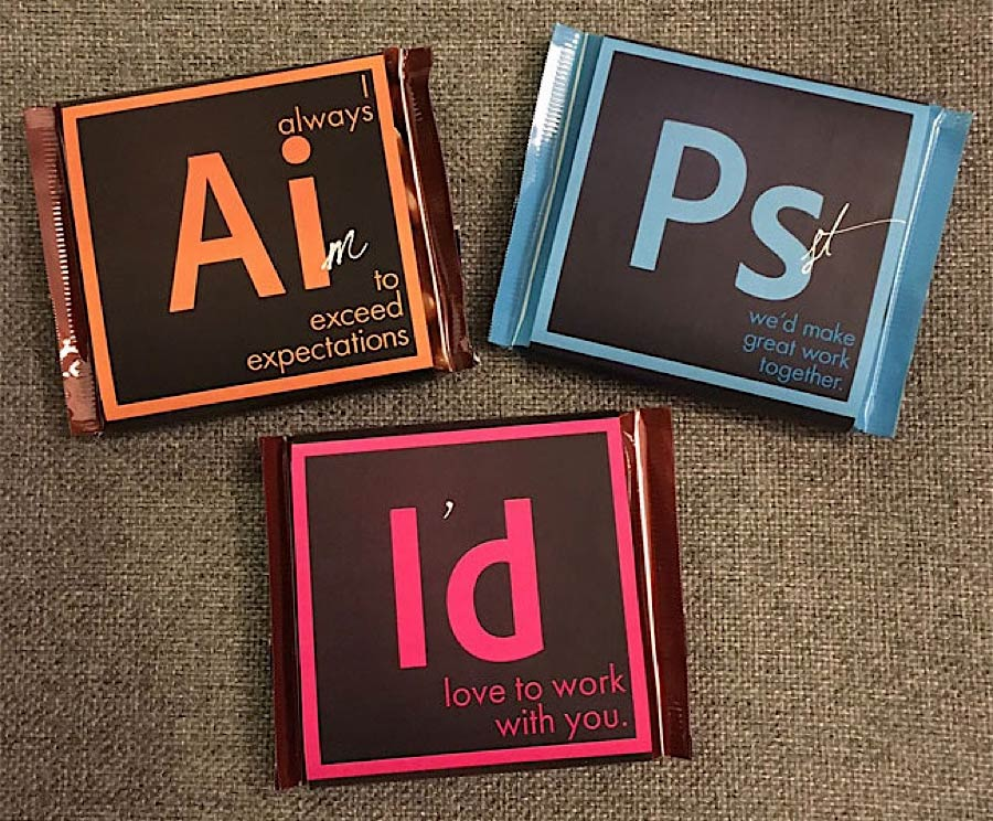 Kreative Visitenkarten aus Schokolade april-hansen-adobe-suite-chocolate_06