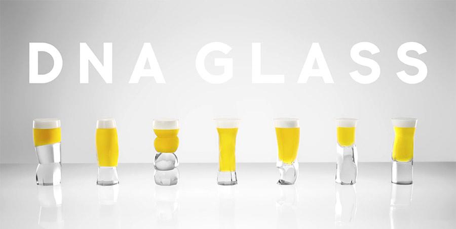 Deine DNA bestimmt die Form dieses Bierglases dns-glass_01