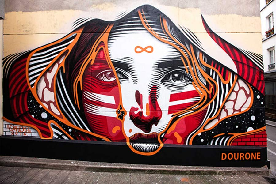 Street Art: Dourone