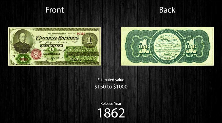 Die Evolution des Ein-Dollar-Scheines evolution-of-the-one-dollar-note