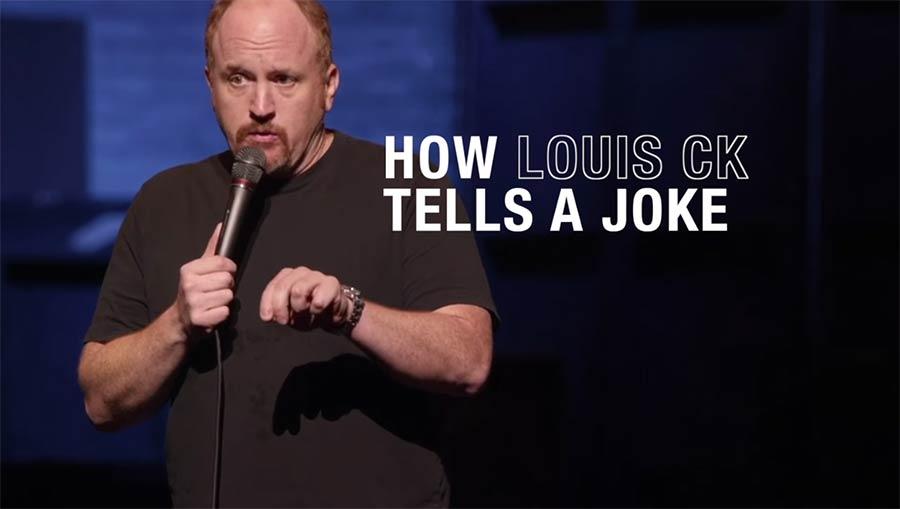 Die Anatomie eines Louis CK-Witzes