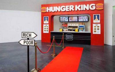 Hunger King teilt Kunden in reich und arm auf