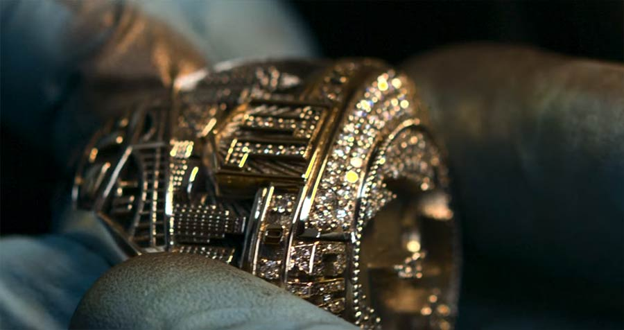 Die Entstehung des NBA Championship Rings