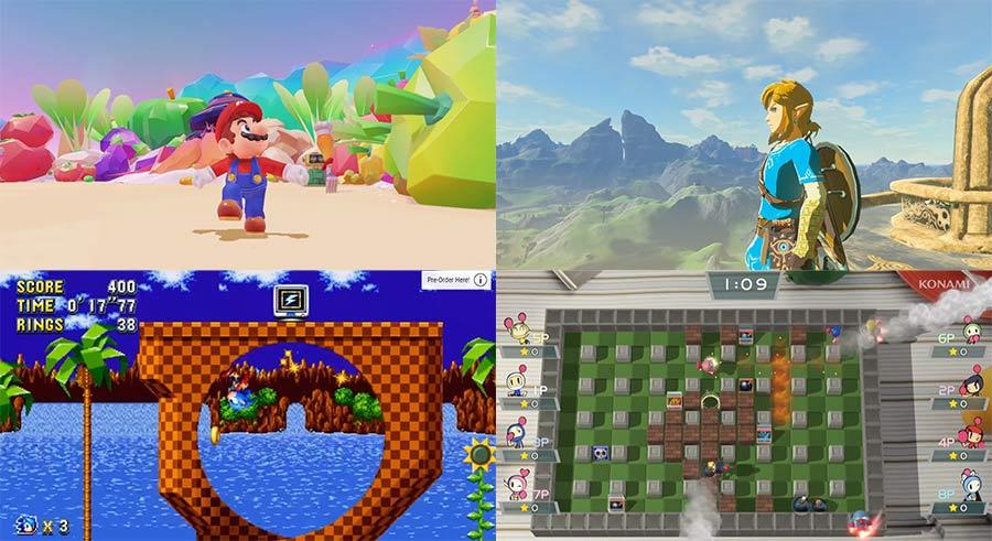 Trailer der ersten 11 Nintendo Switch-Spiele