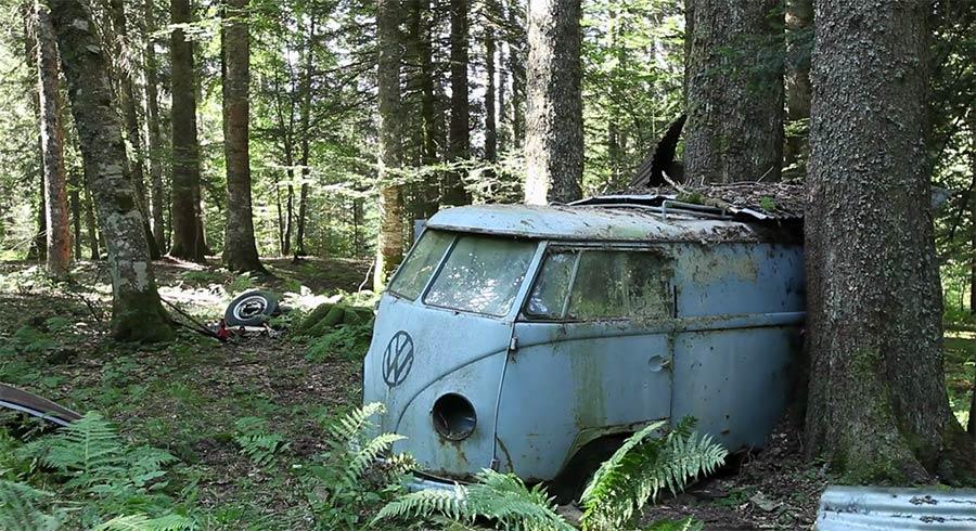 Die Rettung eines 1955er VW Bullies resurrection-rescueing-1955-vw-panelvan