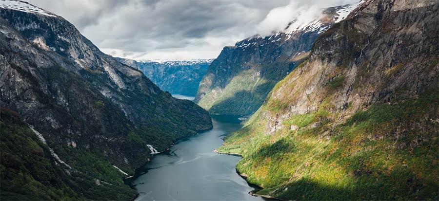 Im 8K-Timelapse durch das norwegische Jahr