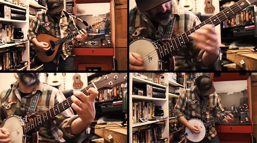 Banjo-Cover von Metallicas 'Wherever I May Roam' wherever-I-may-roam-banjo-cover