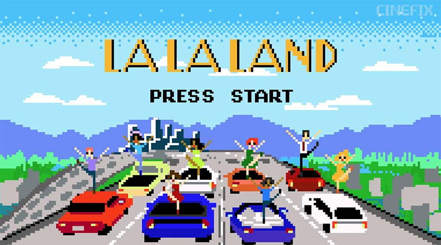 8-Bit Cinema: La La Land