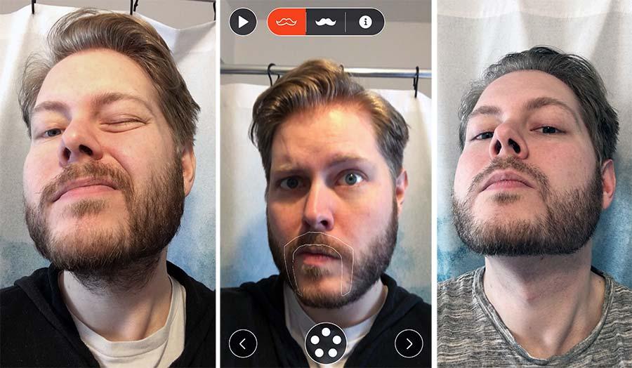 Die 'Style Me'-App lässt euch Bärte anprobieren Braun-Style-Me_05