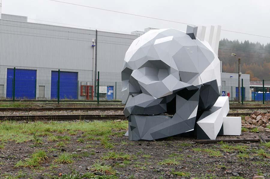 Geometrische Skulpturen von David Mesguich David-Mesguich_07