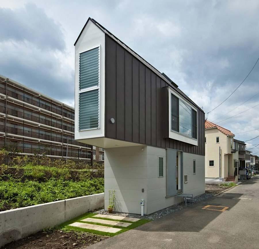 Das schmale Horinouchi-Haus Horinouchi-House_01