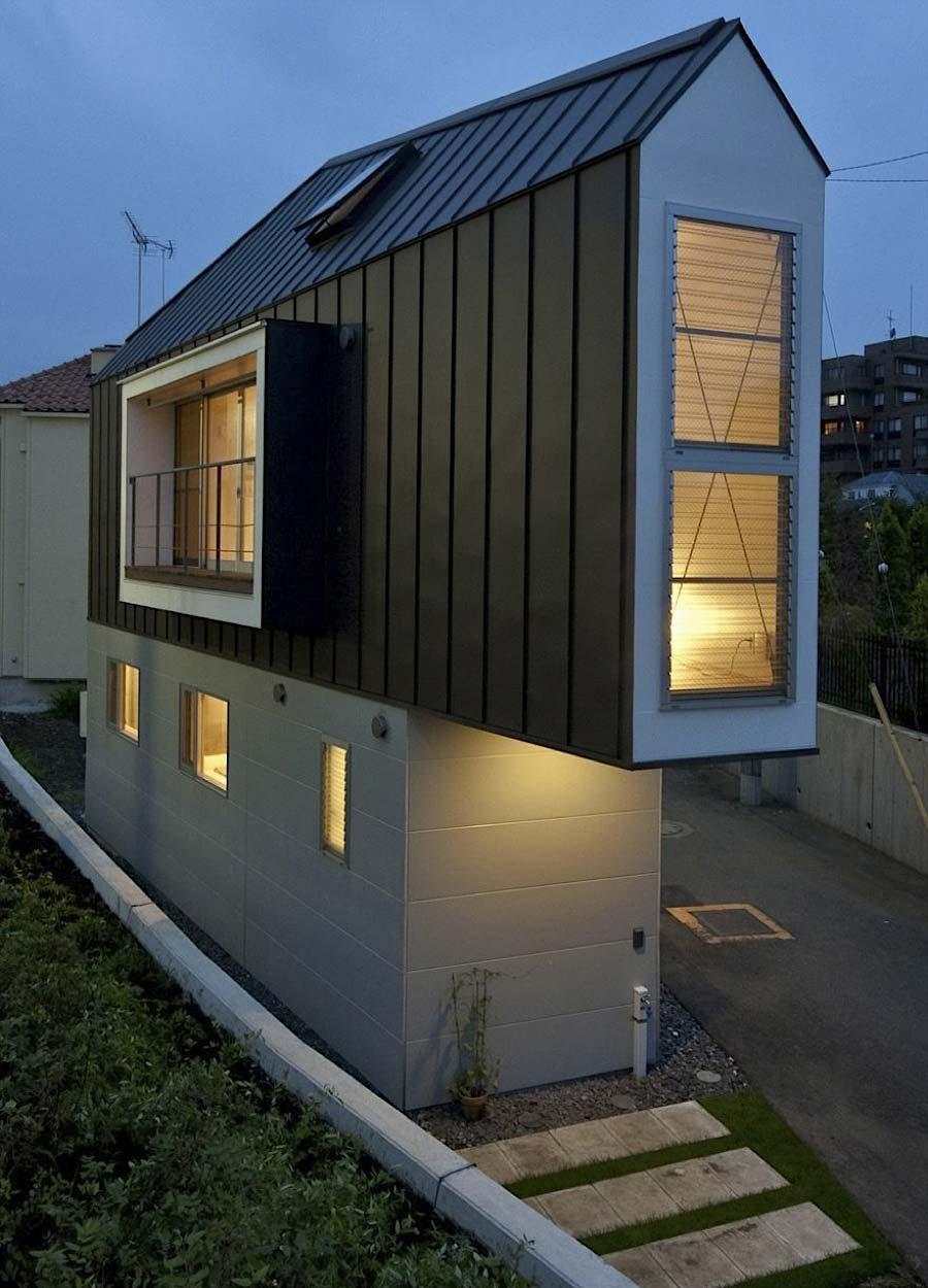 Das schmale Horinouchi-Haus Horinouchi-House_02