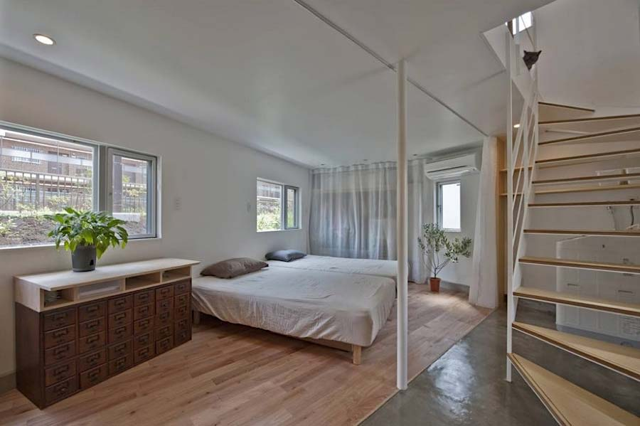 Das schmale Horinouchi-Haus Horinouchi-House_04