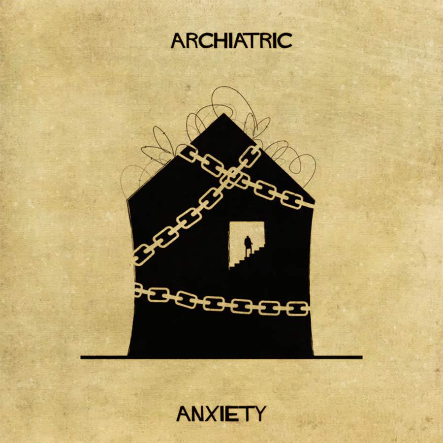 Wenn psychische Erkrankungen Häuser wären