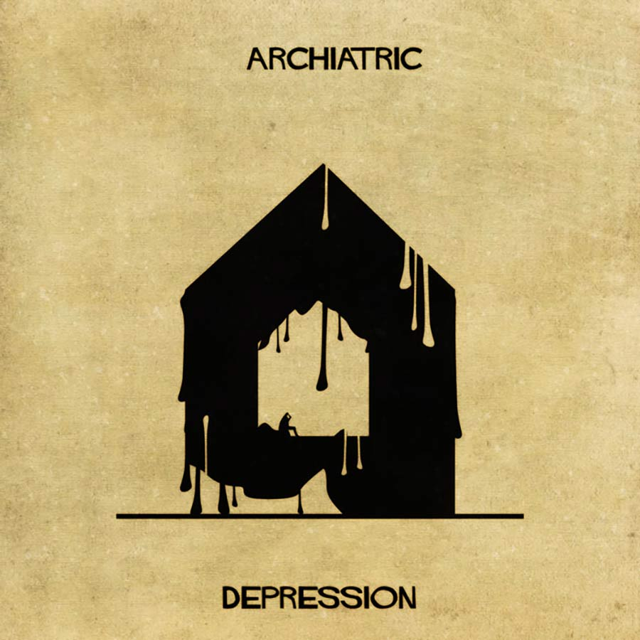 Wenn psychische Erkrankungen Häuser wären archiatric_02