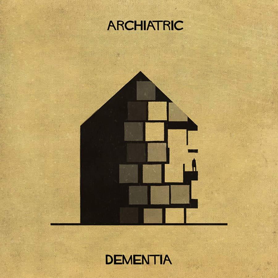 Wenn psychische Erkrankungen Häuser wären archiatric_04
