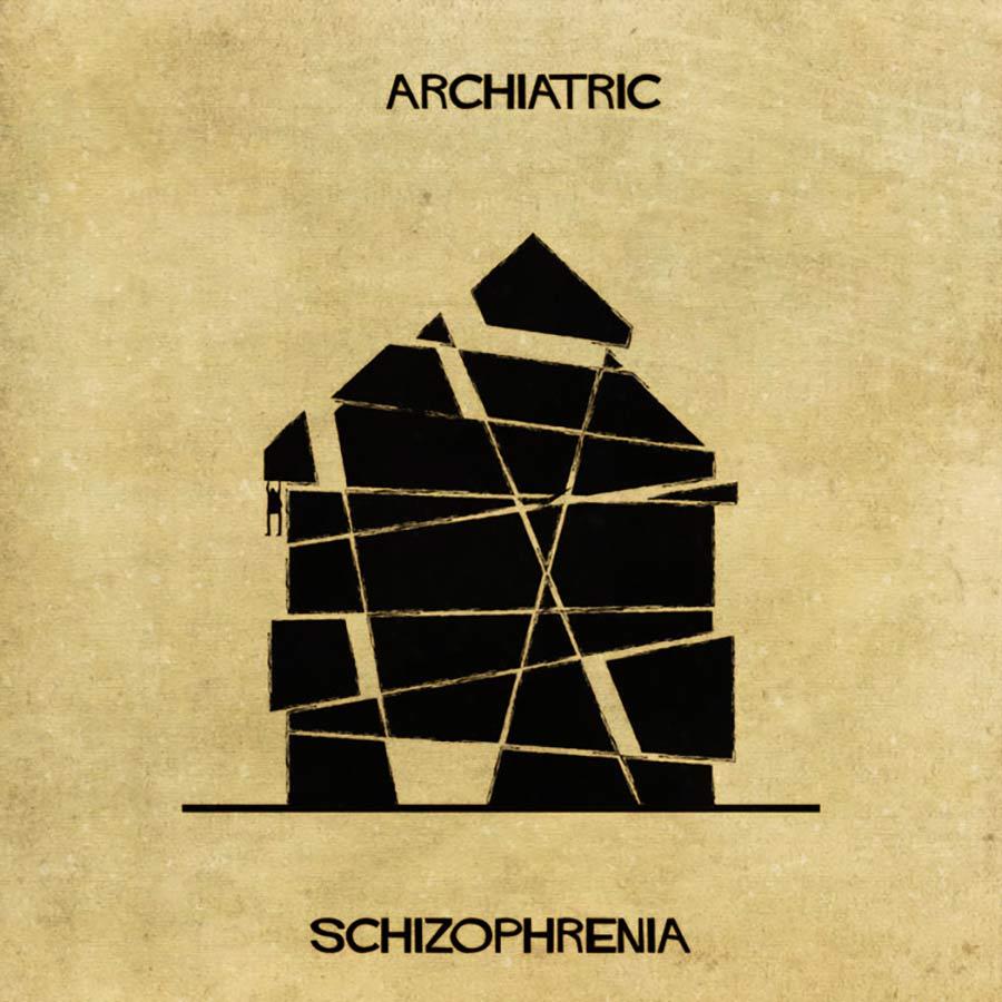 Wenn psychische Erkrankungen Häuser wären archiatric_05