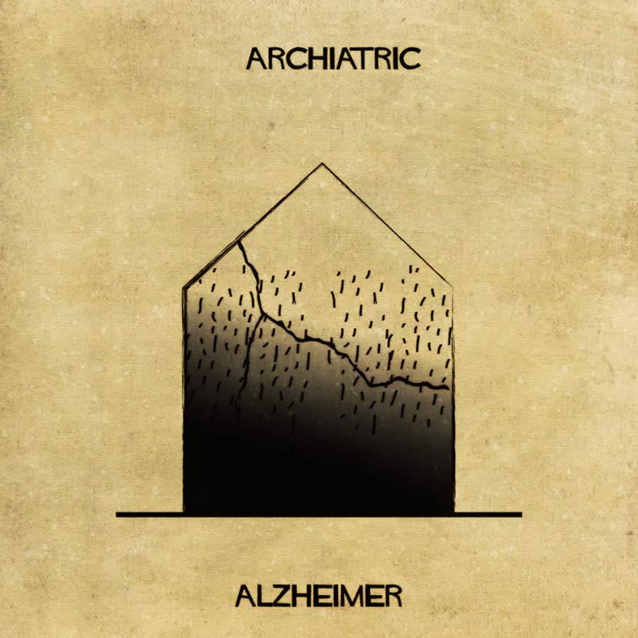 Wenn psychische Erkrankungen Häuser wären archiatric_06