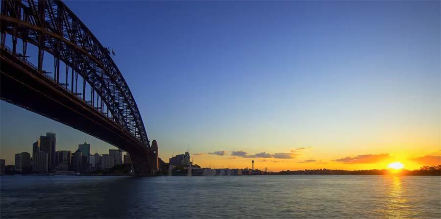 Australien in wunderschönem HDR-8K