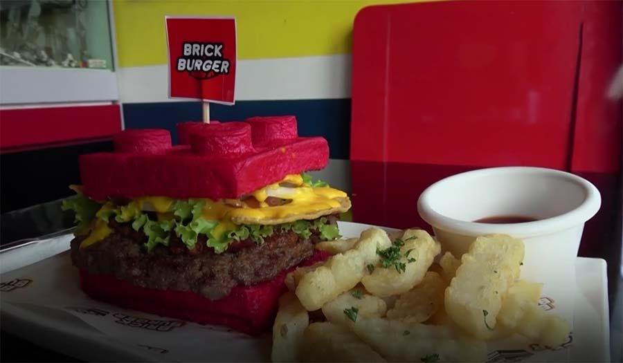 LEGO-Burger brick-burgers