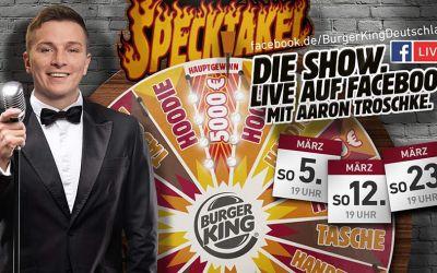 Dreht am Burger King-Glücksrad und gewinnt