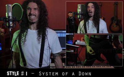 "System of a Downs 'Chop Suey"" in 20 Stilen"