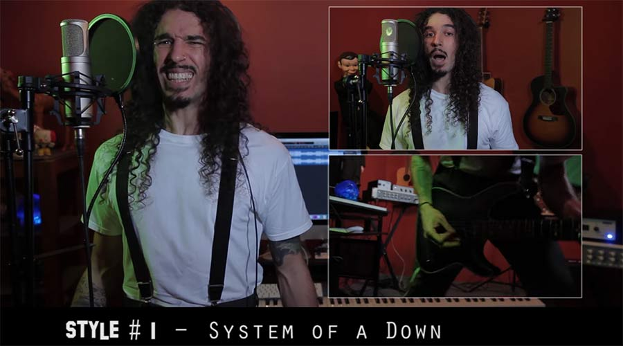 "System of a Downs 'Chop Suey"" in 20 Stilen"