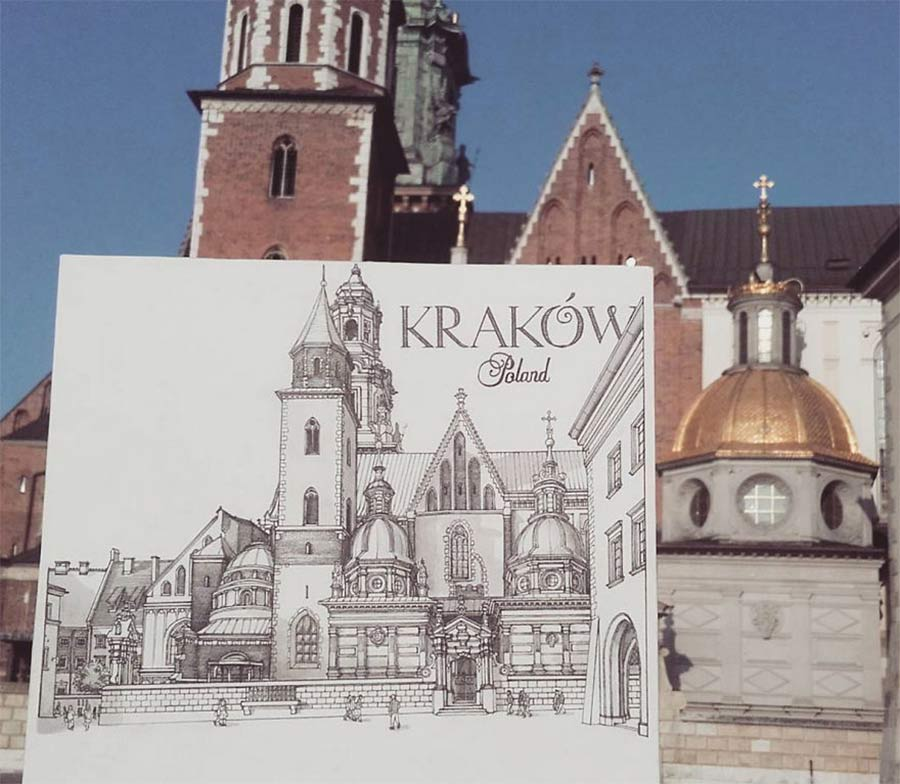 Jede Stadt der Europareise zeichnerisch festhalten drawbackpacking-Maxwell-Tilse_07