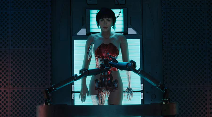 Ghost In The Shell: Trailer #2 ghost-in-the-shell-trailer-2
