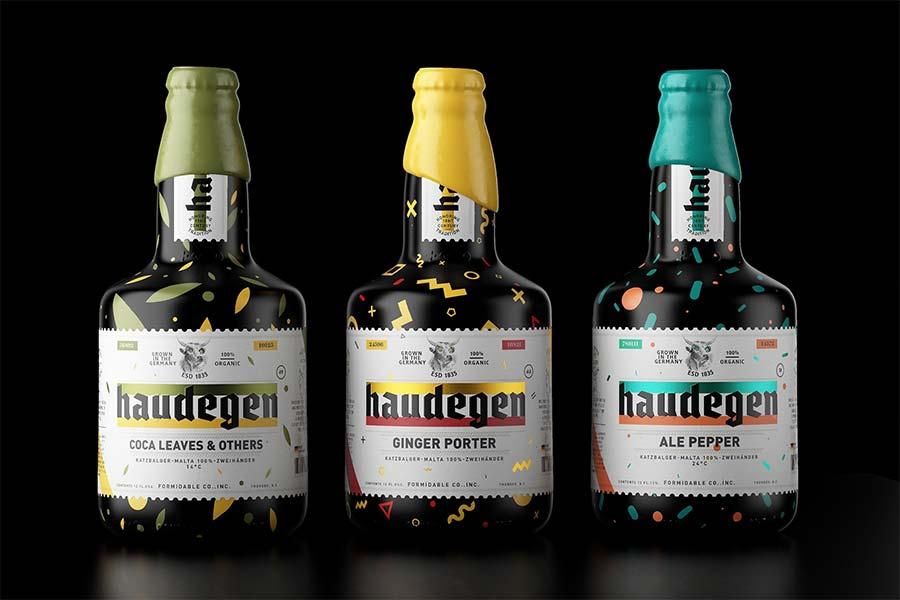 Schniekes Bierflaschen-Design für Haudegen