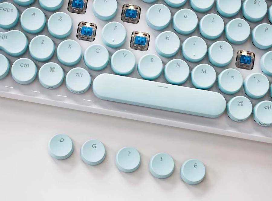 Computer-Tastatur mit Schreibmaschinen-Feeling lofree_schreibmaschinentastatur_03
