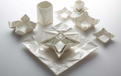 Origami-Geschirr