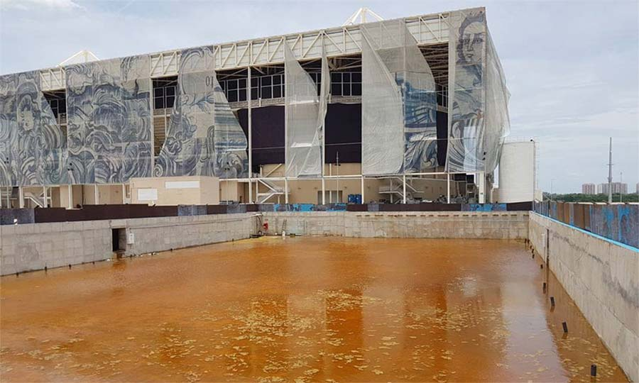 So heruntergekommen sind die Olympia-Stätten aus Rio bereits