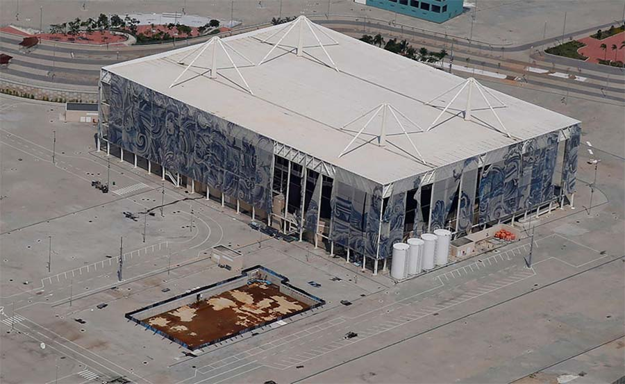 So heruntergekommen sind die Olympia-Stätten aus Rio bereits rio-olympia-venues_04