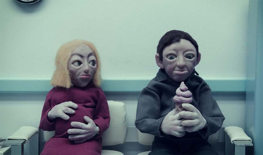 Verstörend absurder Kurzfilm: Cream