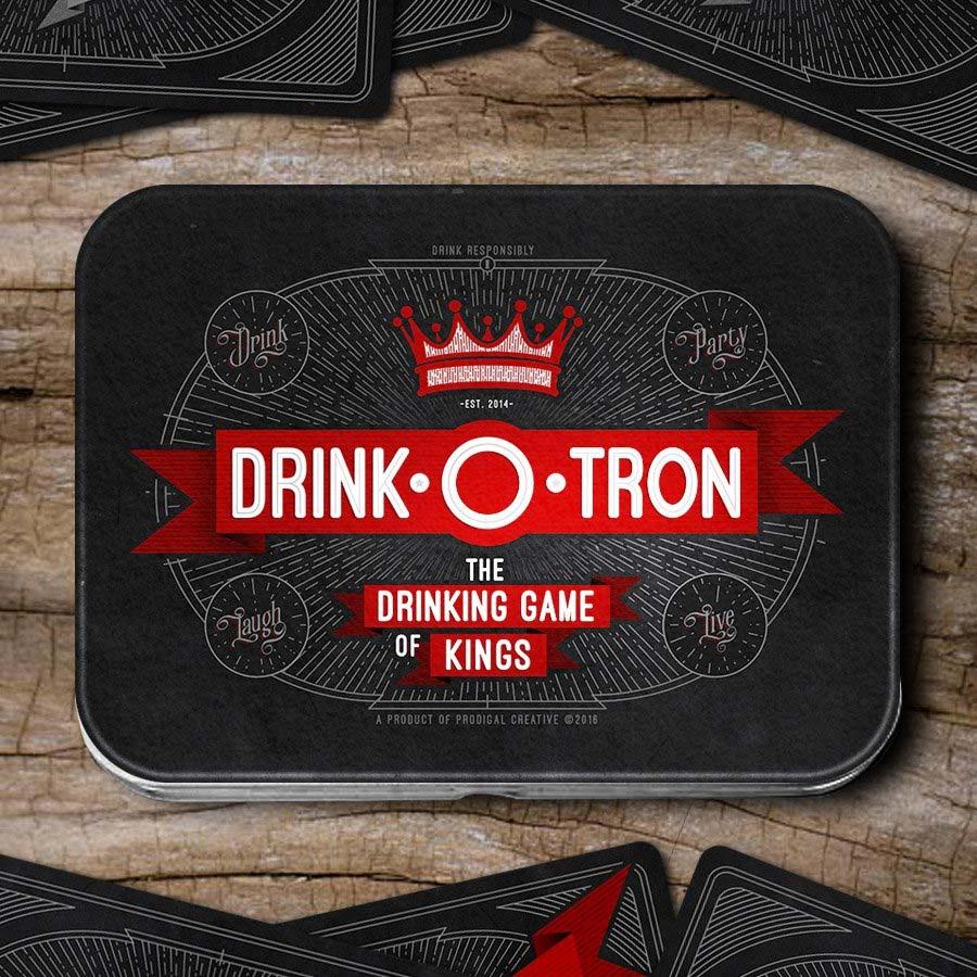 Drink-O-Tron ist ein sehr schön gestaltetes Trink-Kartenspiel