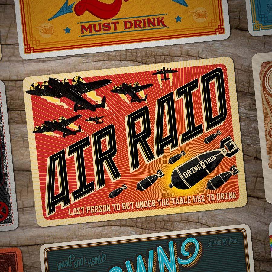 Drink-O-Tron ist ein sehr schön gestaltetes Trink-Kartenspiel Drink-o-tron-game_03