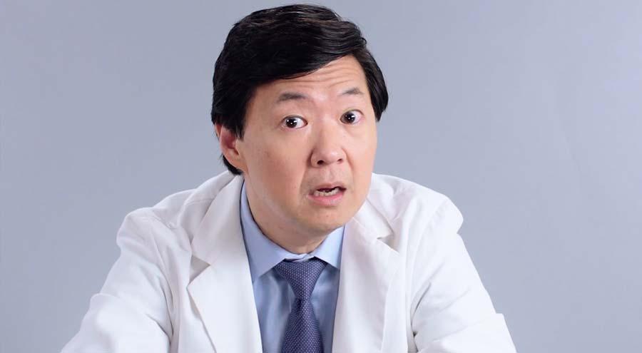 Ken Jeong beantwortet Medizinfragen auf Twitter