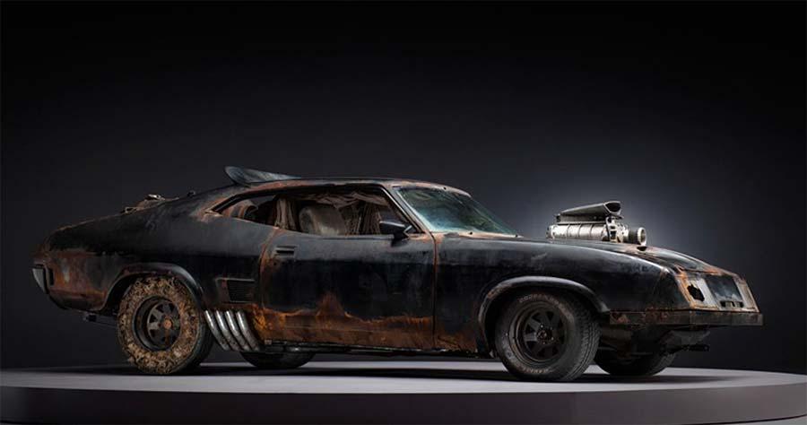 Die Fahrzeuge aus Mad Max: Fury Road, bevor sie zerschrottet wurden