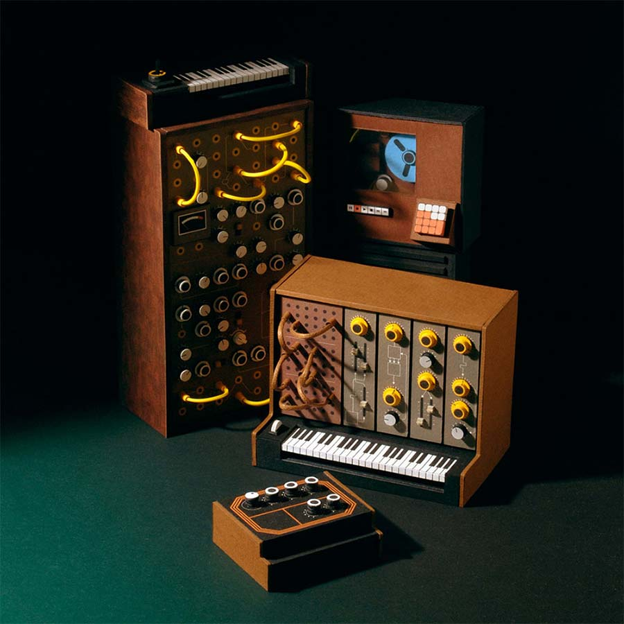 Retro-Synthesizer aus Papier analogue-miniatures-paper-synthesizers_05