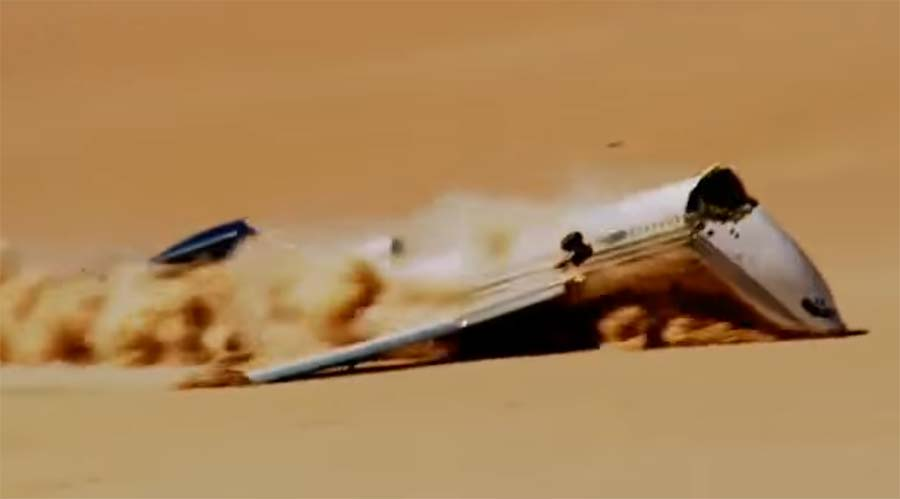 Crashtest einer Boeing 727 boeing-727-crash-test