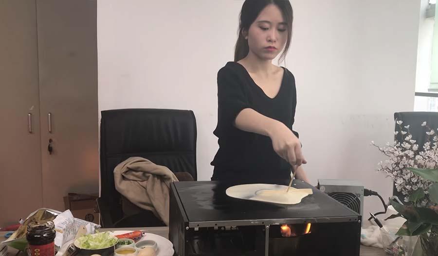 Kochen auf dem Computer