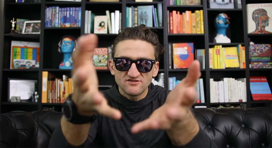Casey Neistat sagt: DO WHAT YOU CAN'T