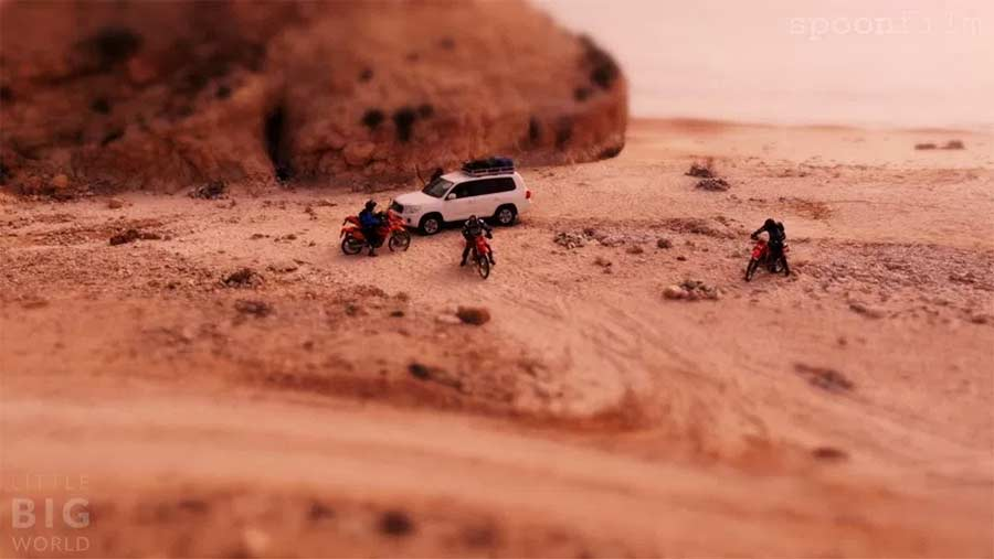 Tilt-Shift: Oman Offroad