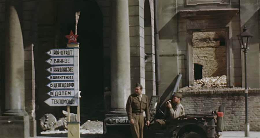 Farbvideoaufnahmen von Potsdam im Juli 1945 potsdam-1945-in-color